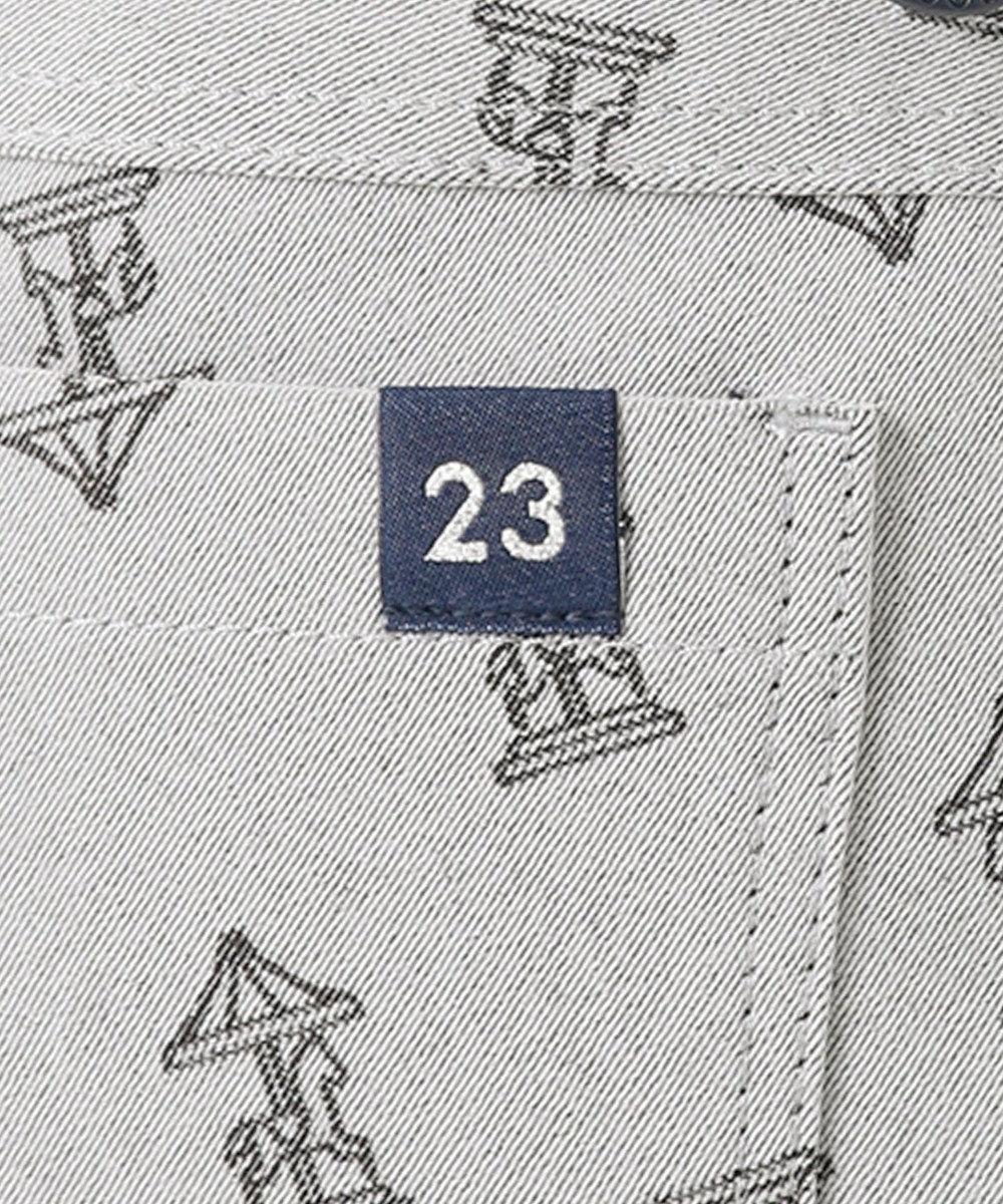23区GOLF 【WOMEN】メリーゴーランド柄ジャガード パンツ ネイビー系5