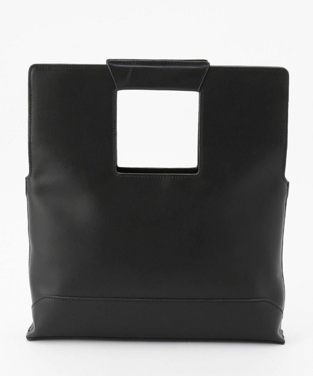 ICB 【マガジン掲載】Square レザー3WAYバッグ(番号CD25) ブラック系