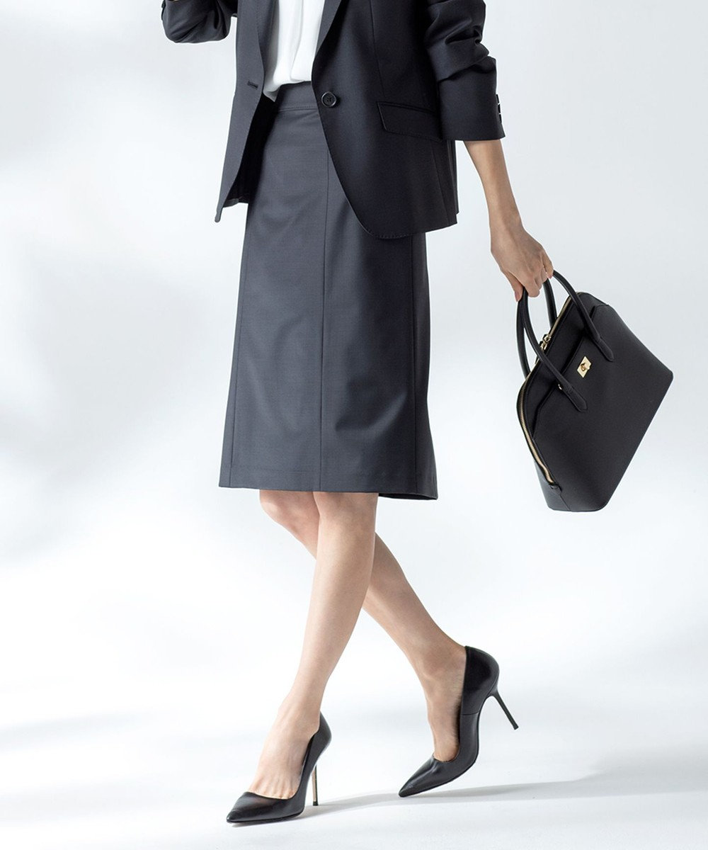 J.PRESS LADIES 【スーツ対応】BAHARIYE NEW スカート ブラック系
