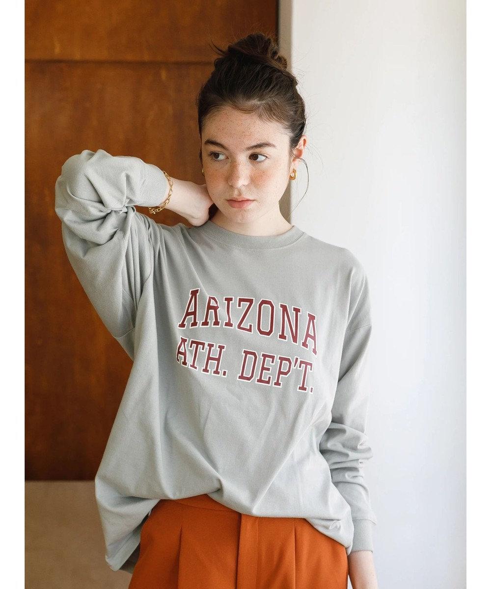 koe プリントロングTシャツ Gray