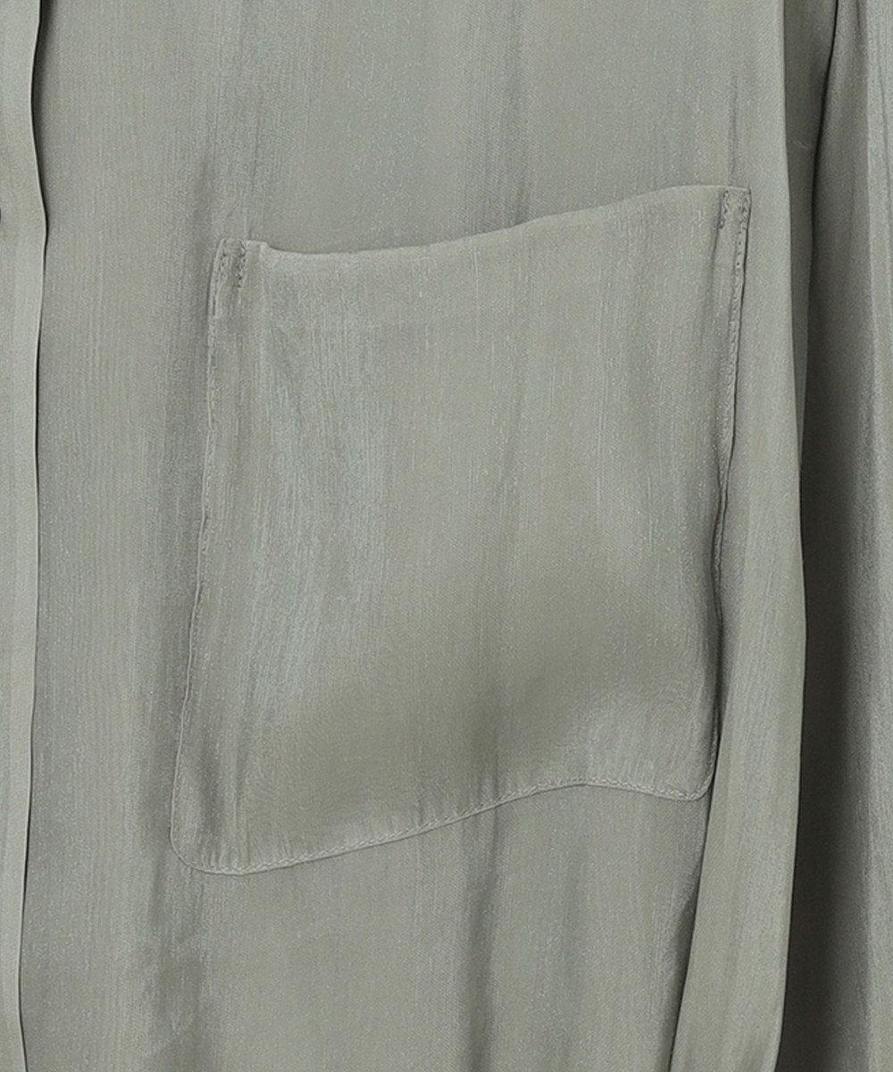 any SiS S 【洗える】シアーライトクロス ブラウス ミント