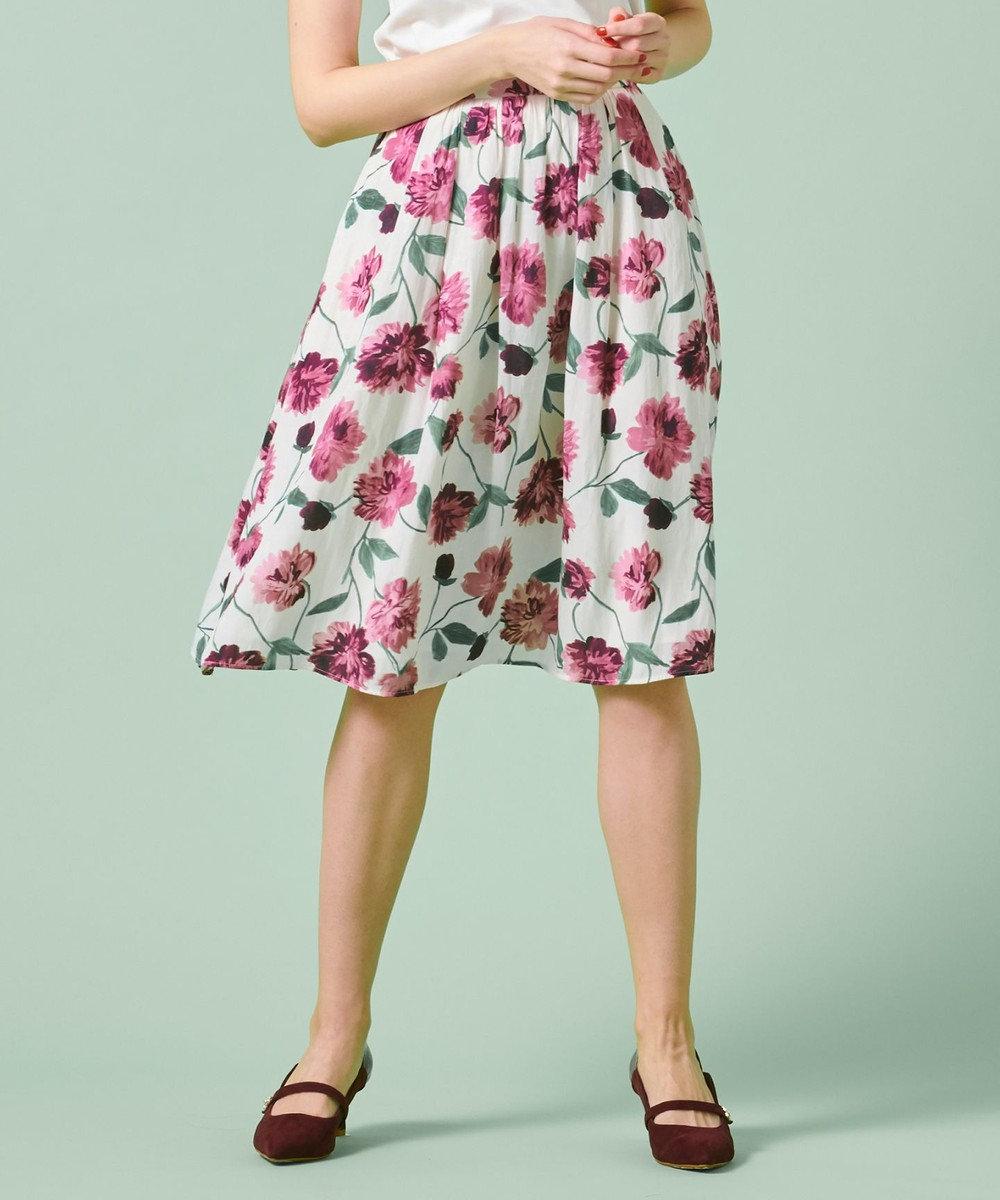 TOCCA 【洗える!】ROSA SKIRT スカート クリーム系
