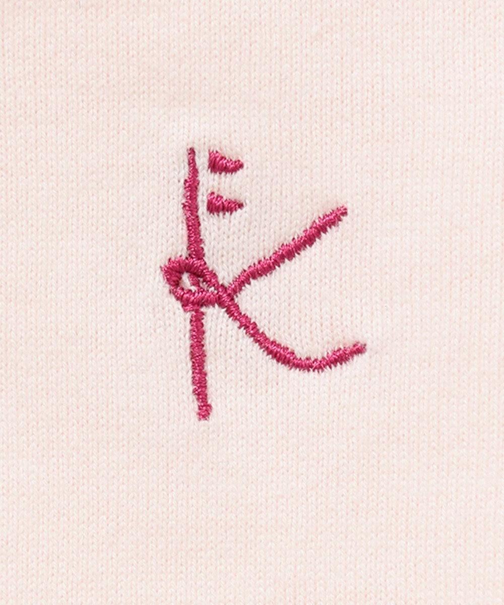 組曲 KIDS 【80-90cm】ボレロ+スズランプリントワンピース+ブルマ 3点セット レッド系5