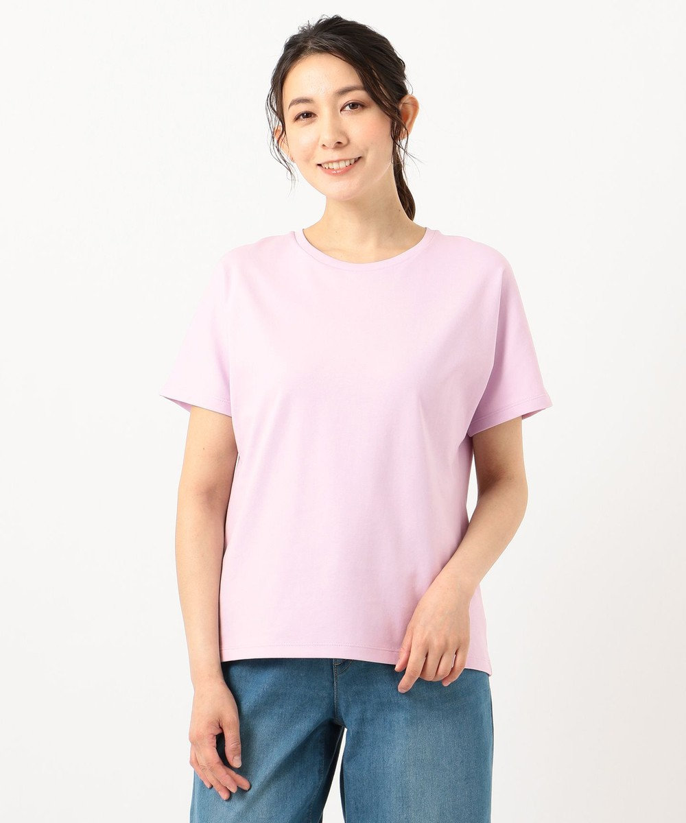 any FAM L 【定番人気】【UVケア】プレミアムベーシック Tシャツ ローズ系