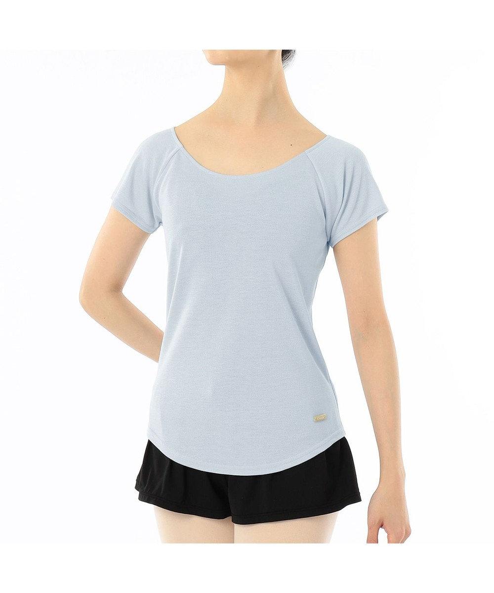 Chacott Tシャツ パールグレー