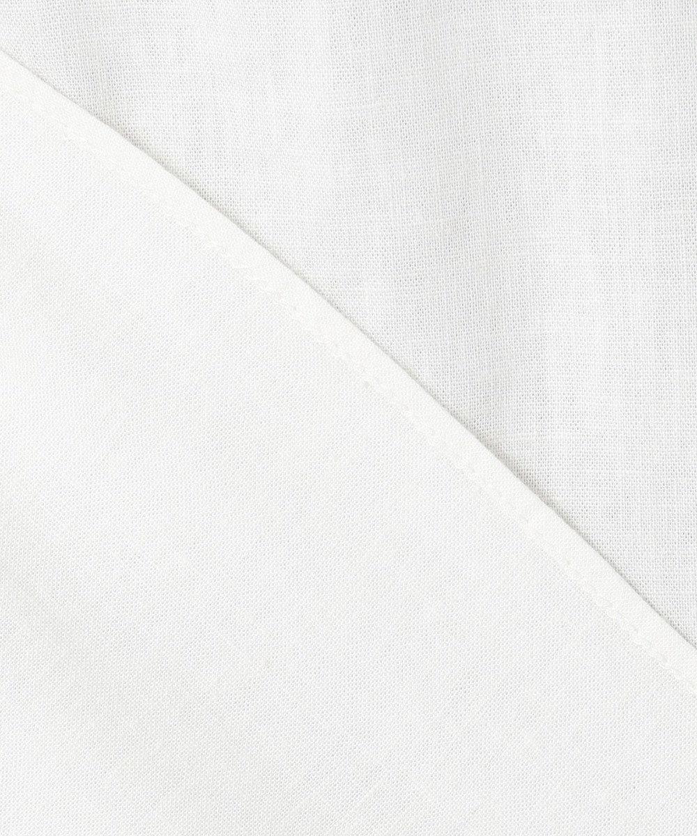 自由区 L BOTANICAL DYE   ドルマンスリーブ ブラウス ホワイト系
