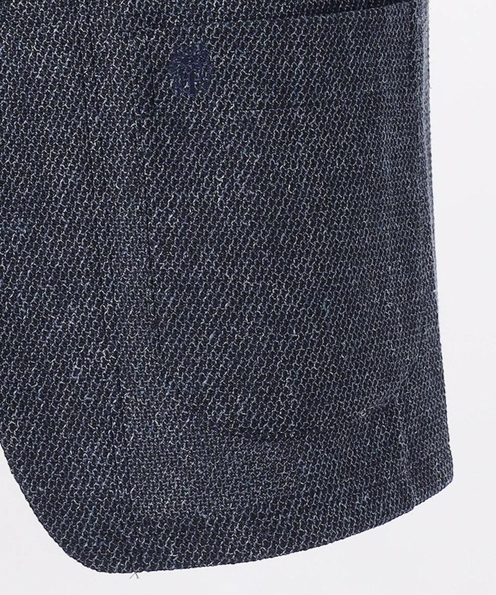 DAKS 【WEB&一部店舗限定】リネンコットンハニカムジャージーショール カーデジャケット ネイビー系