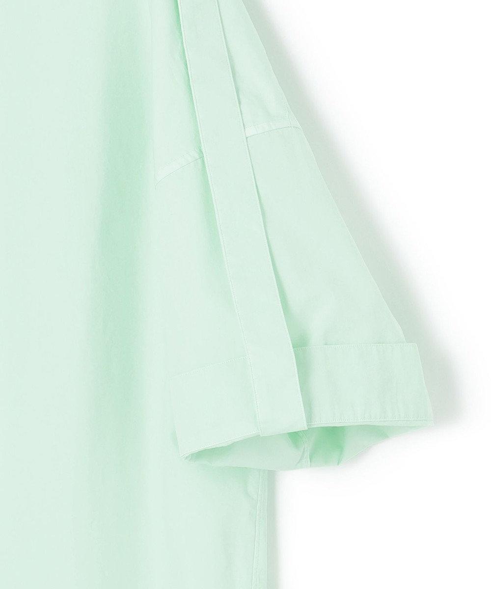 23区 【23区 lab.】ハイカウントブロード ビッグ シャツ ライトグリーン系