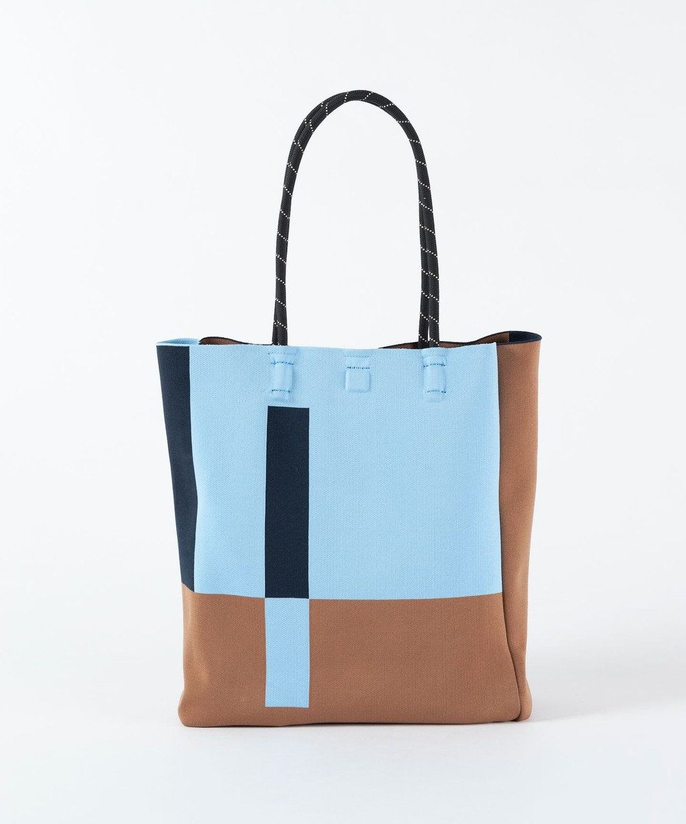 TRICOTE LINE KNIT BAG NEW / ラインニットバッグNEW 31BLUE