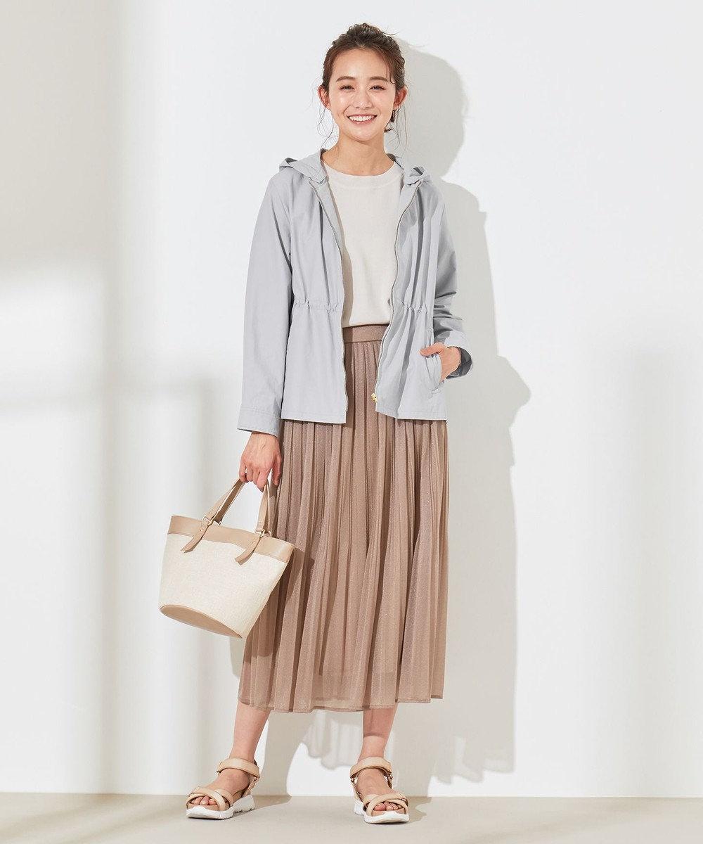 any SiS L 【洗える】ドルマンオーバー ニット アイボリー系