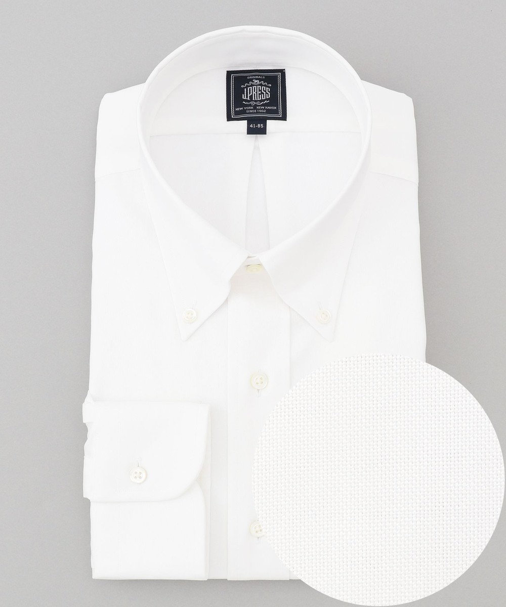 J.PRESS MEN 【一部店舗・WEB限定】ボタンダウン ドレスシャツ ホワイト系