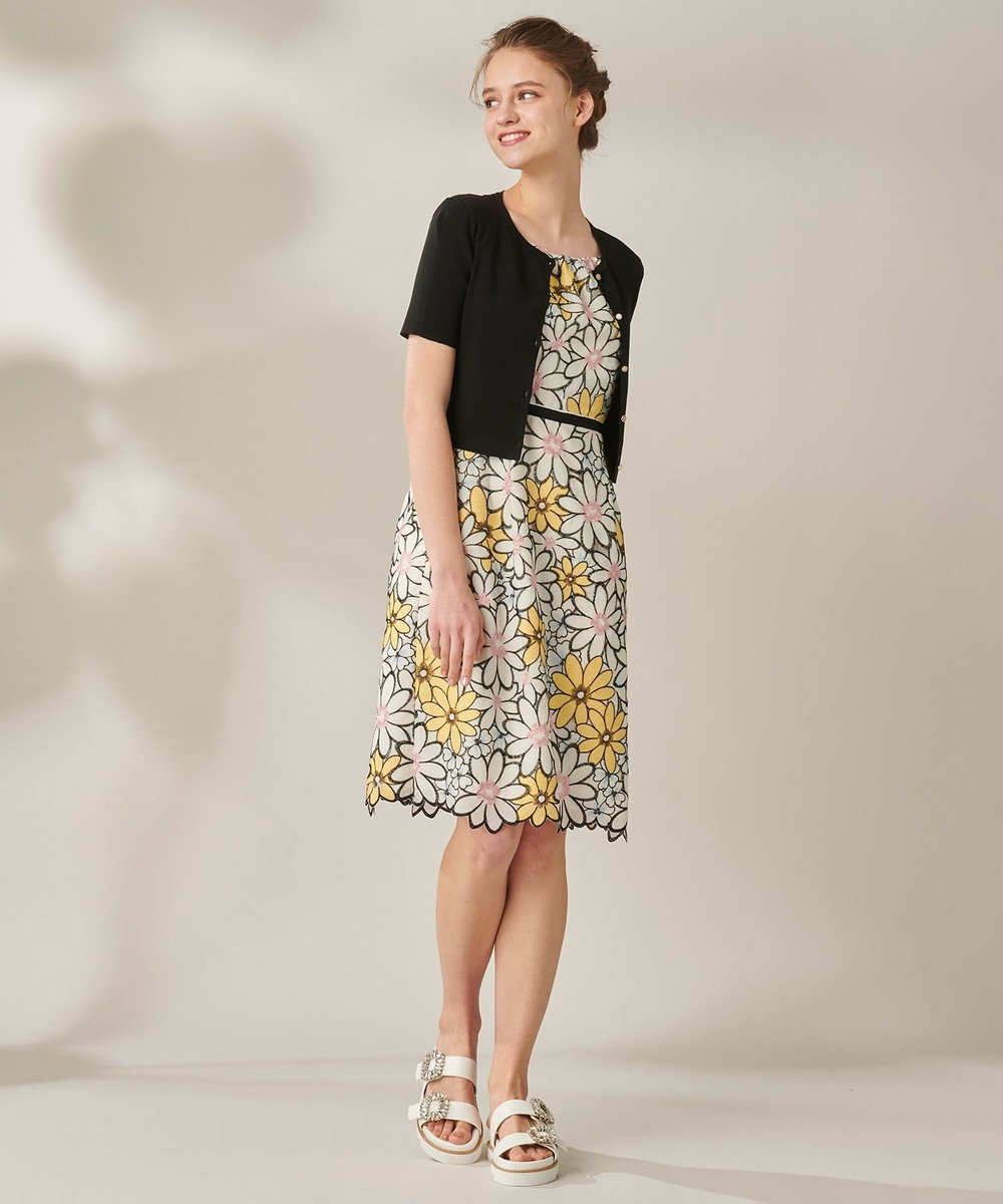 TOCCA 【洗える!】MATRICARIA ドレス アイボリー系7