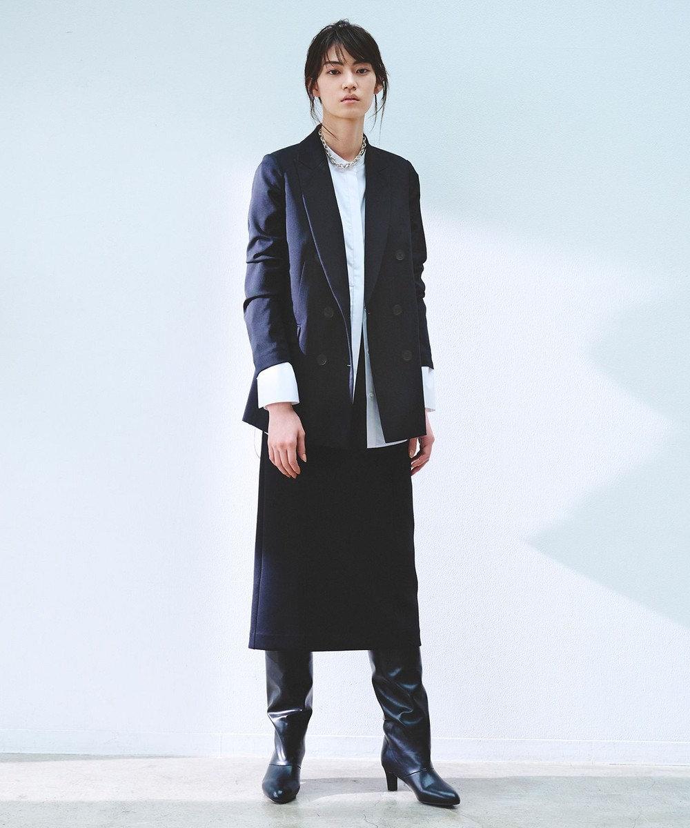 ICB L 【マガジン掲載】 ヘヴィダンボール タイトスカート(番号CG22) ブラック系