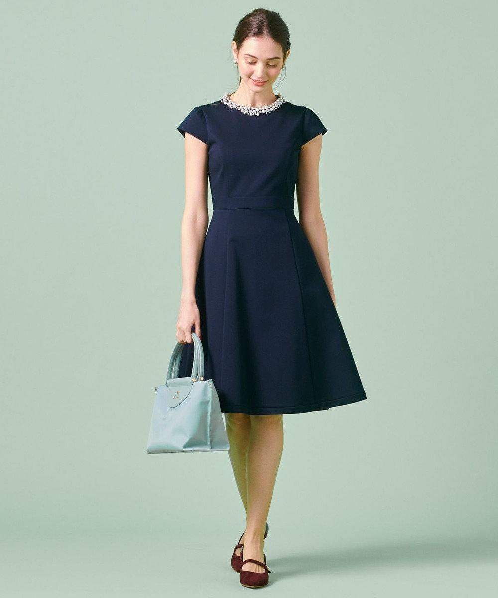 TOCCA 【洗える!】GENMA ドレス ネイビー系