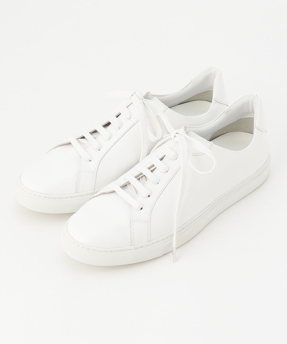 BEIGE, 【限定色・限定サイズあり】ZOEY / LACE UPスニーカー White