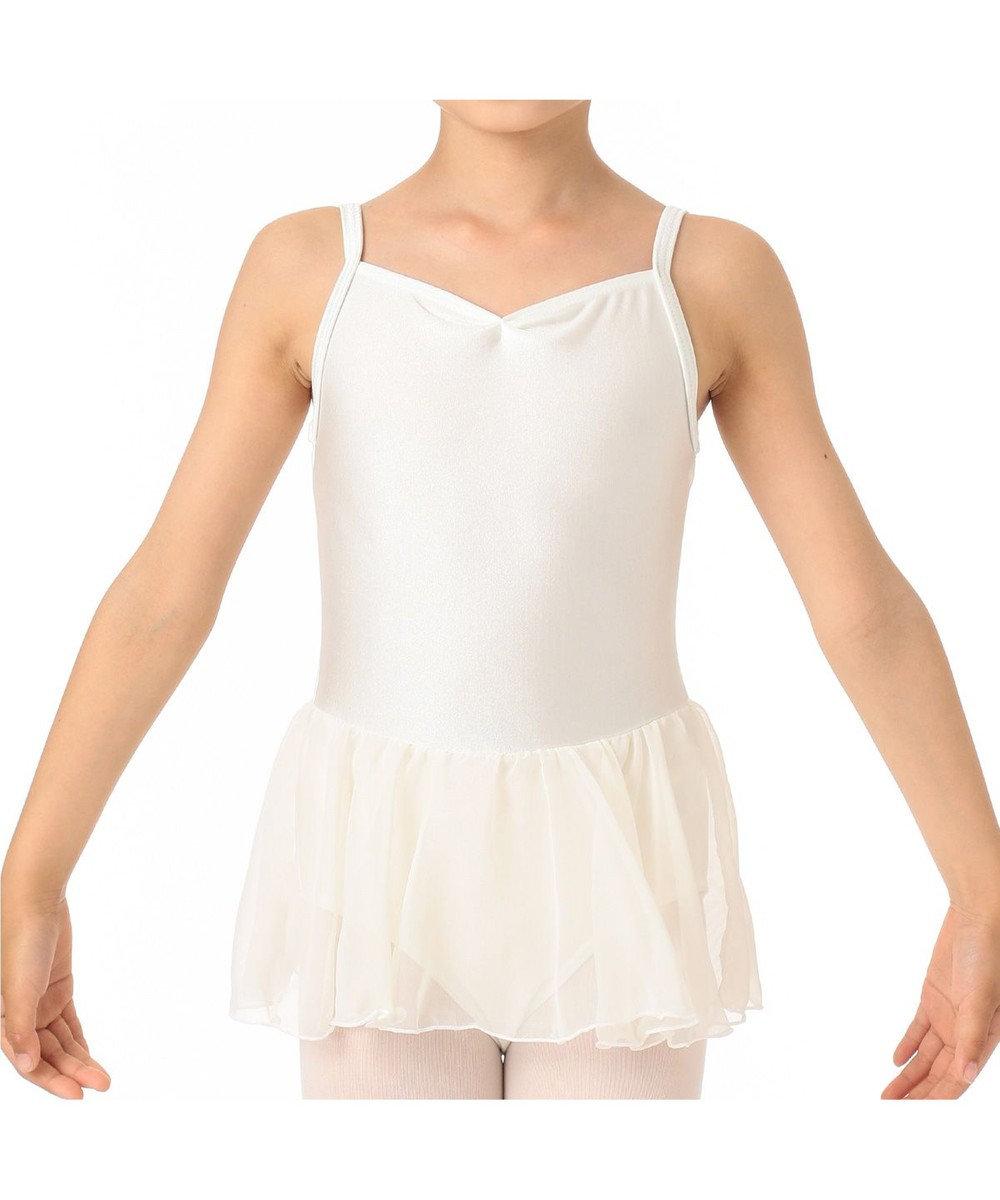Chacott スカート付レオタード オフホワイト