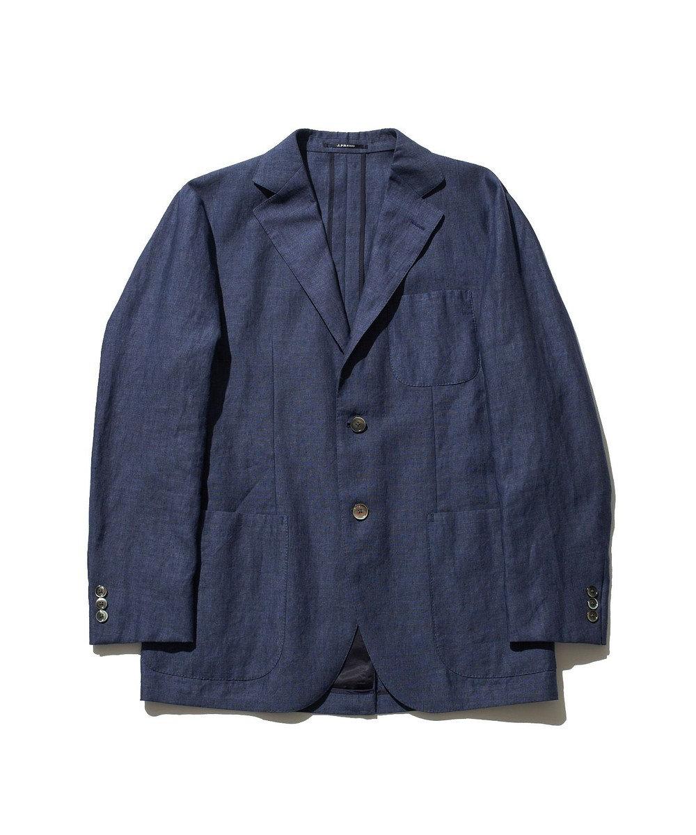 J.PRESS MEN 【SAFILIN】リネンキャンブリック ジャケット ブルー系