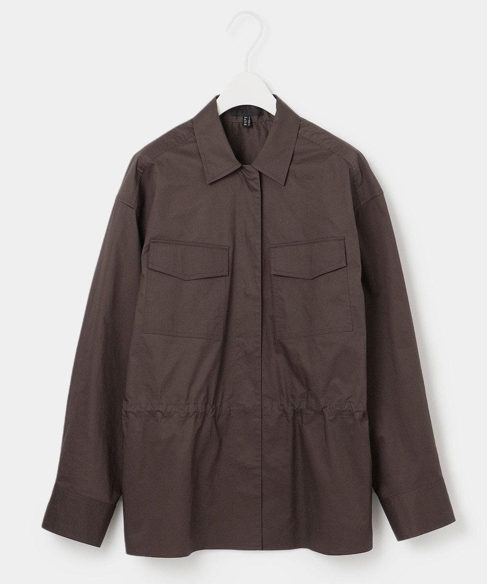 ICB 【マガジン掲載】Sundial ミリタリーシャツ(番号CH26) ダークブラウン系