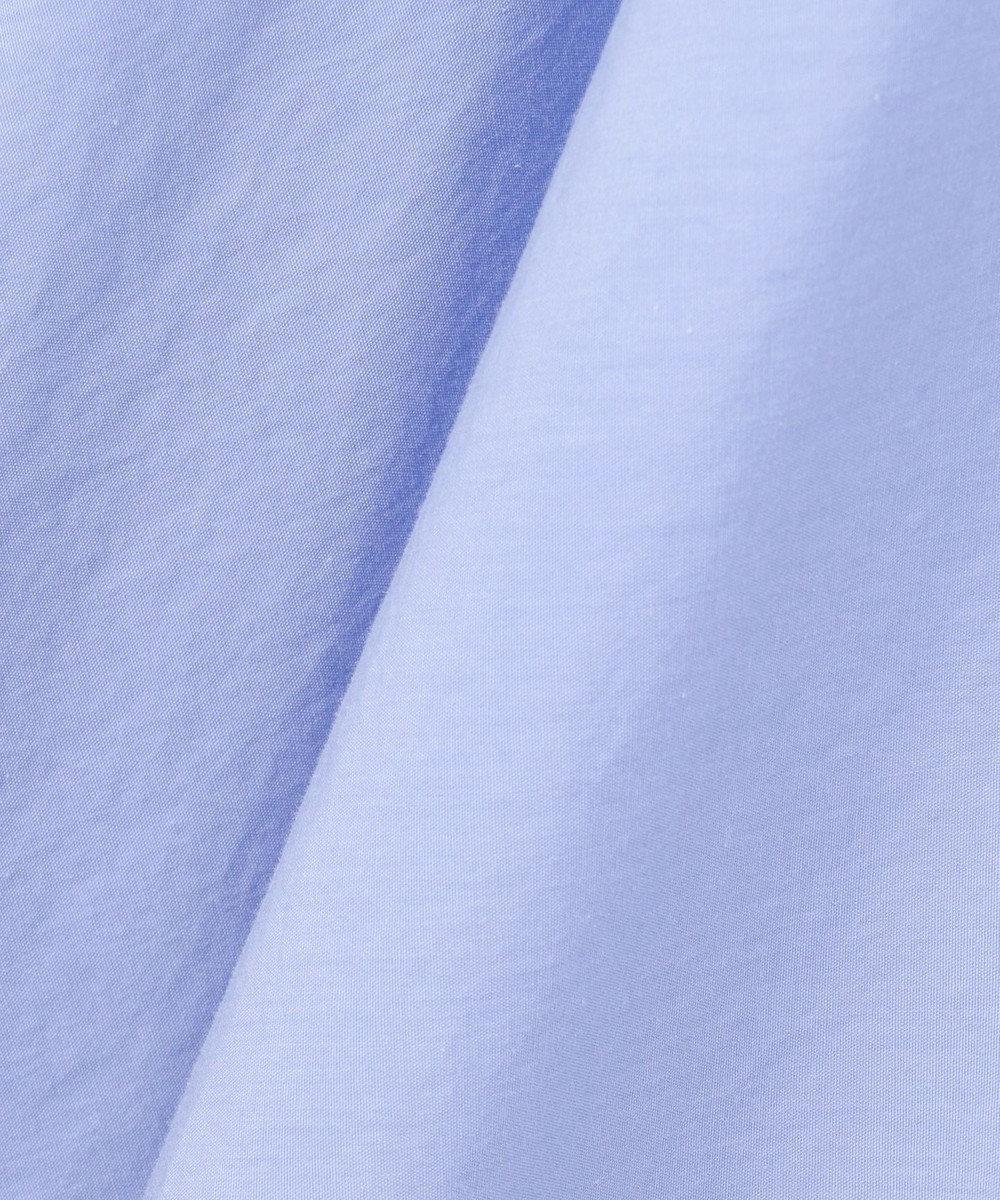 #Newans 【マガジン掲載】KATIE/ オープンカラーワンピース(番号NF26) サックスブルー系