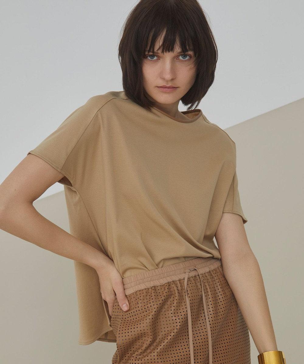 BEIGE, MONS / Tシャツ Camel × Hazel