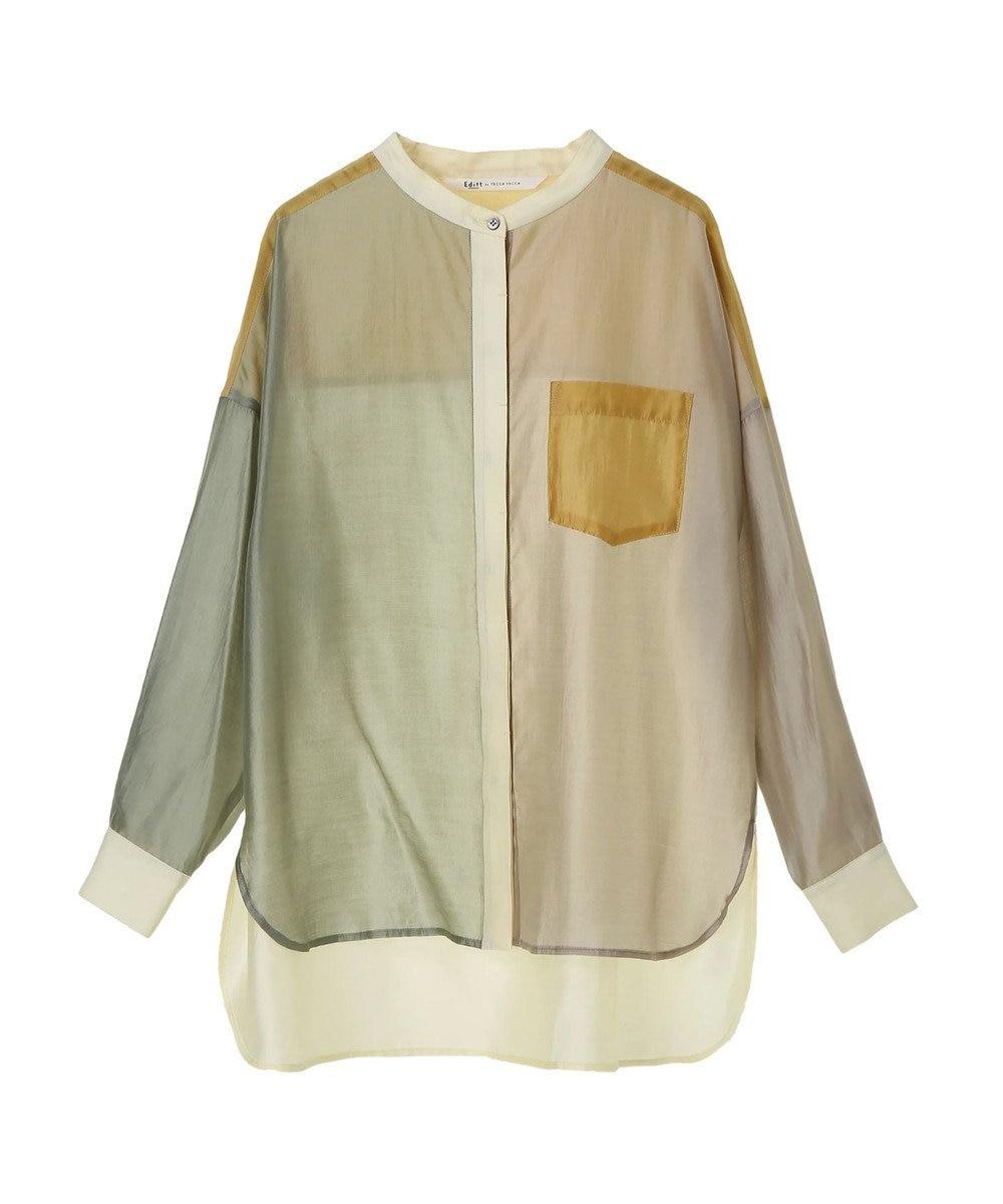 YECCA VECCA 4col.シアーシャツ Mint