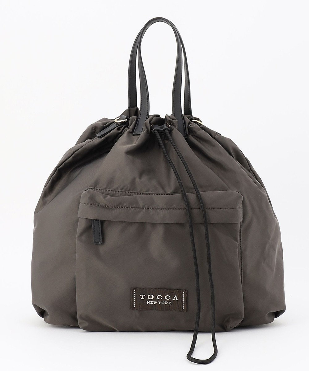 TOCCA CIELO 2WAY TOTE トートバッグ カーキ系