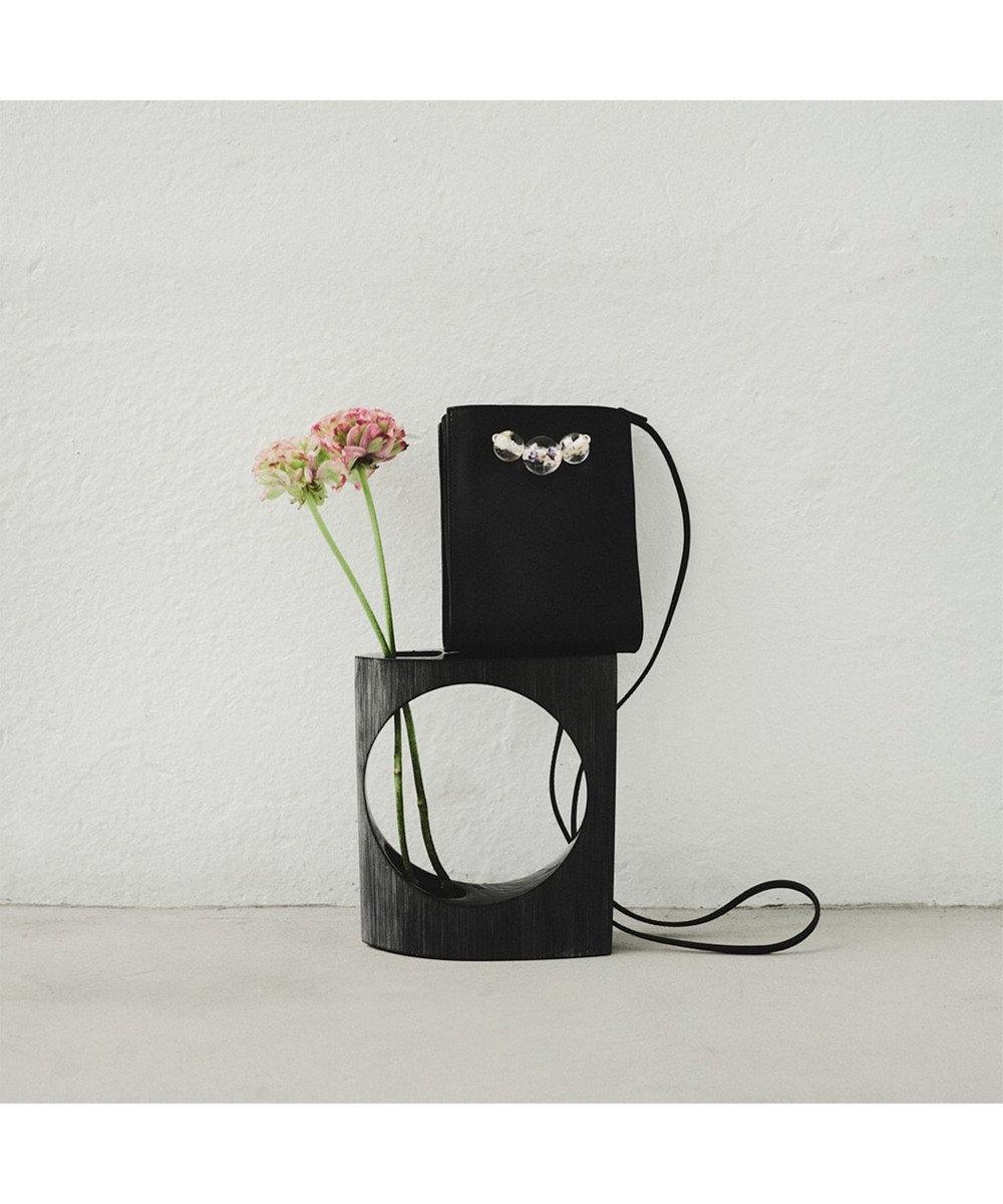ANEVER 平手友梨奈さん着用【VIOLA】 レザーミニ ショルダーバッグ ブラック系