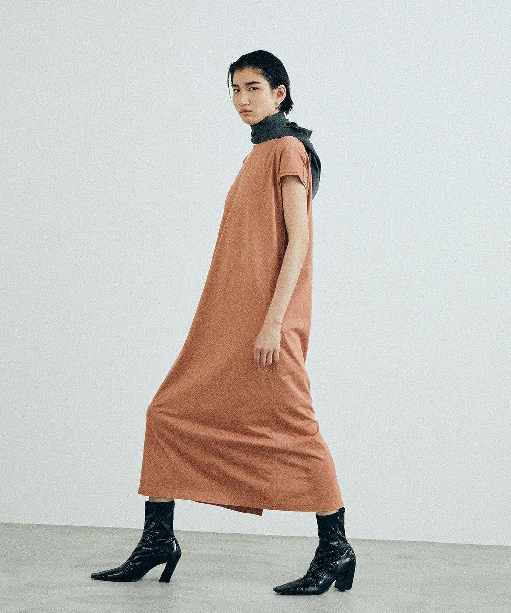 ONWARD Design Diversity 【ONWARD DD】オーガニックコットン Tドレス オレンジ系