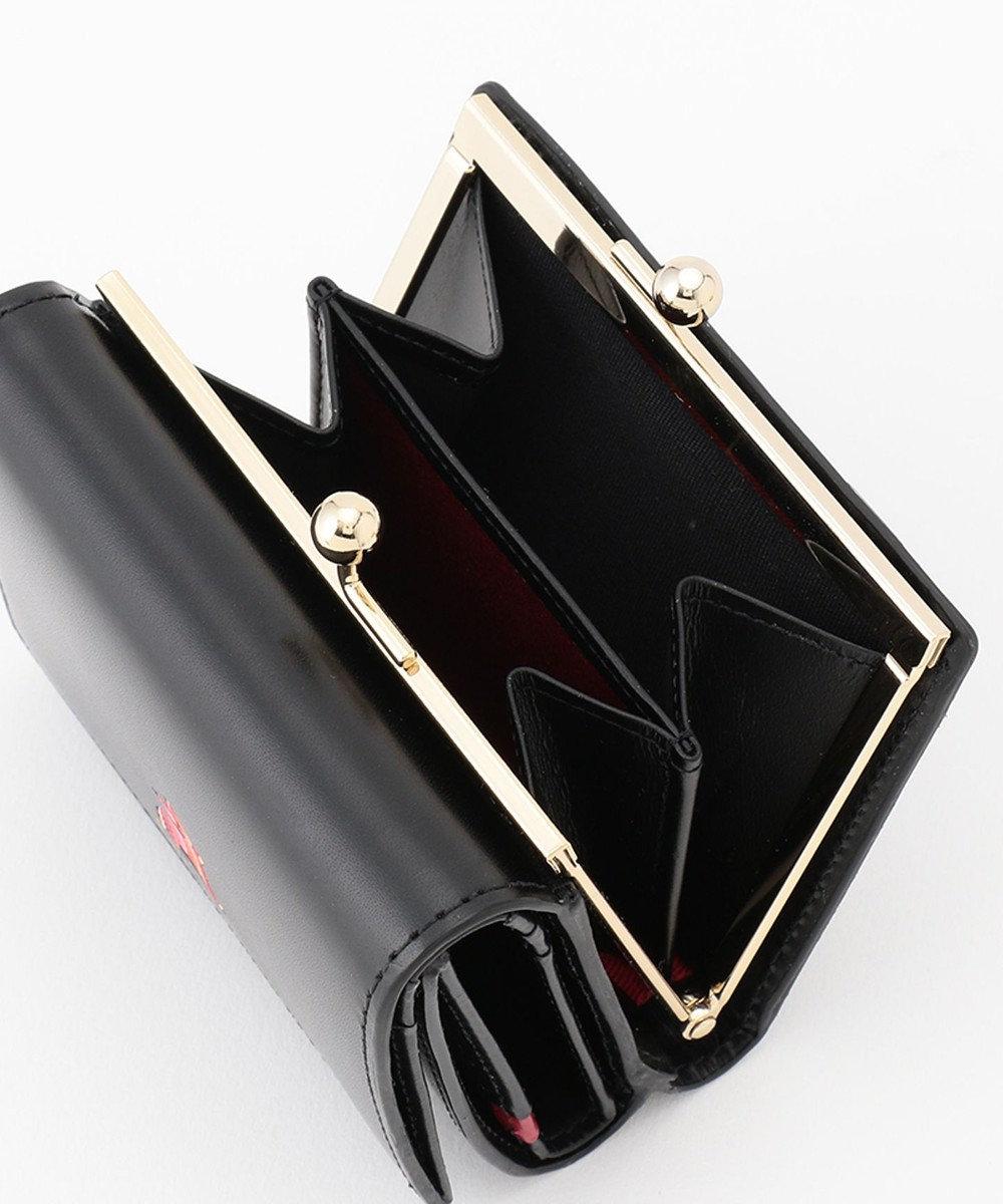 Paul Smith マーケトリーストライプラビット 3つ折り財布 ブラック系