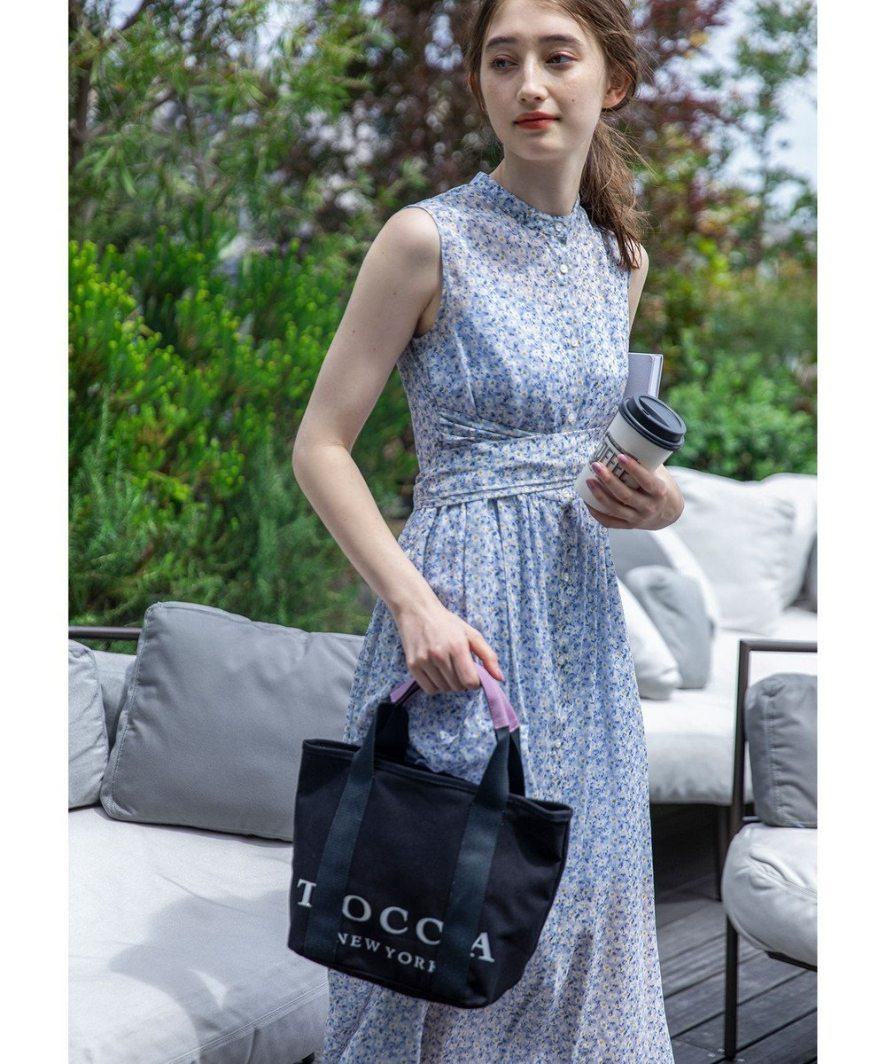 TOCCA 【WEB限定】BIG TOCCA TOTE S トートバッグ S ブラック系