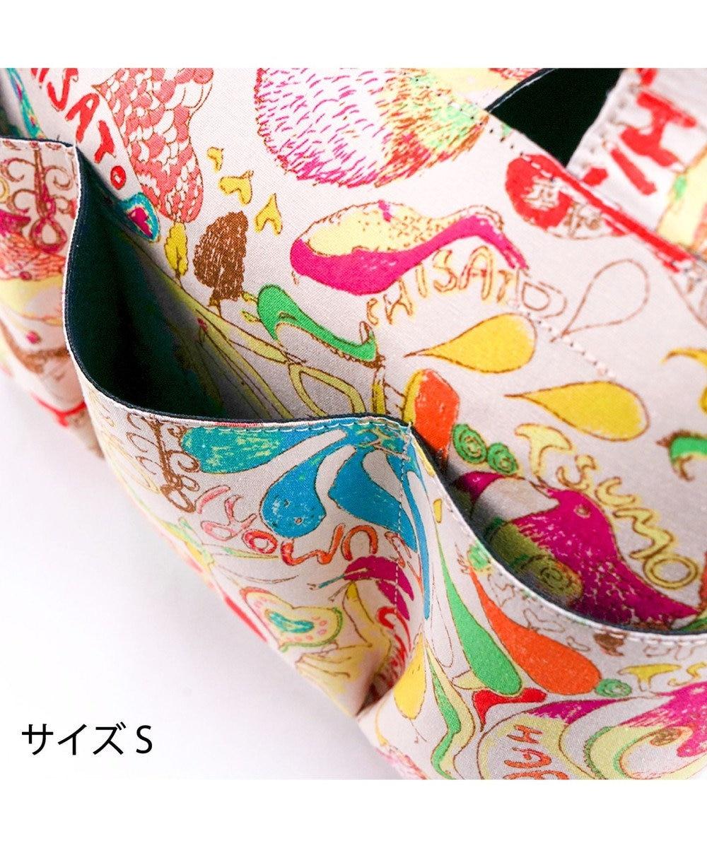 tsumori chisato CARRY カットオブツールバッグS ハッピースタッフ トートバッグ ブラック
