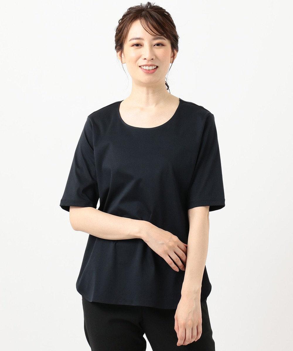 自由区 【Sサイズ有】FUNCTIONAL JERSEY Tシャツ カットソー ネイビー系