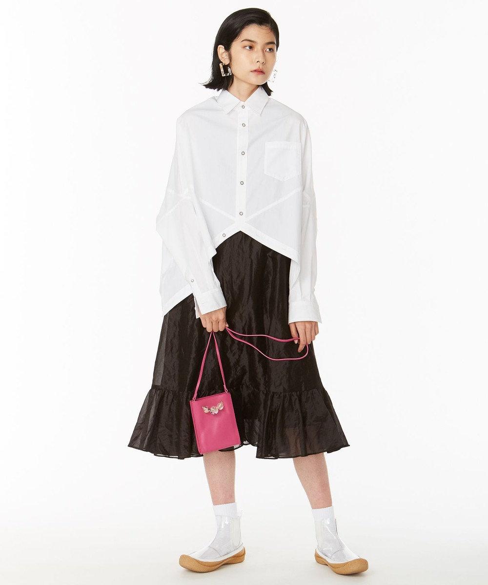ANEVER 平手友梨奈さん着用【VIOLA】 レザーミニ ショルダーバッグ ピンク系