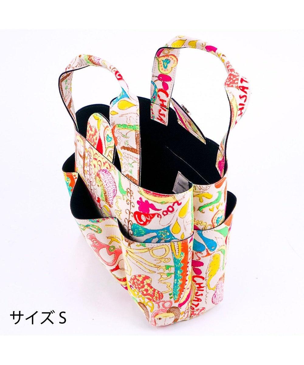 tsumori chisato CARRY カットオブツールバッグS カモフラージュサファリ トートバッグ マルチ