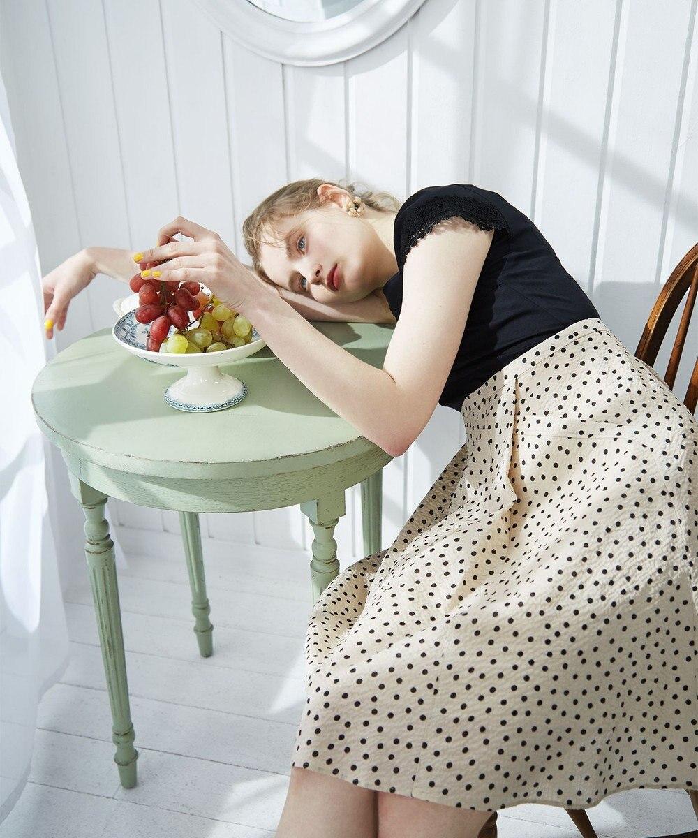 TOCCA 【洗える!】CARAMELLA DRESS ドッキングドレス ベージュ系5