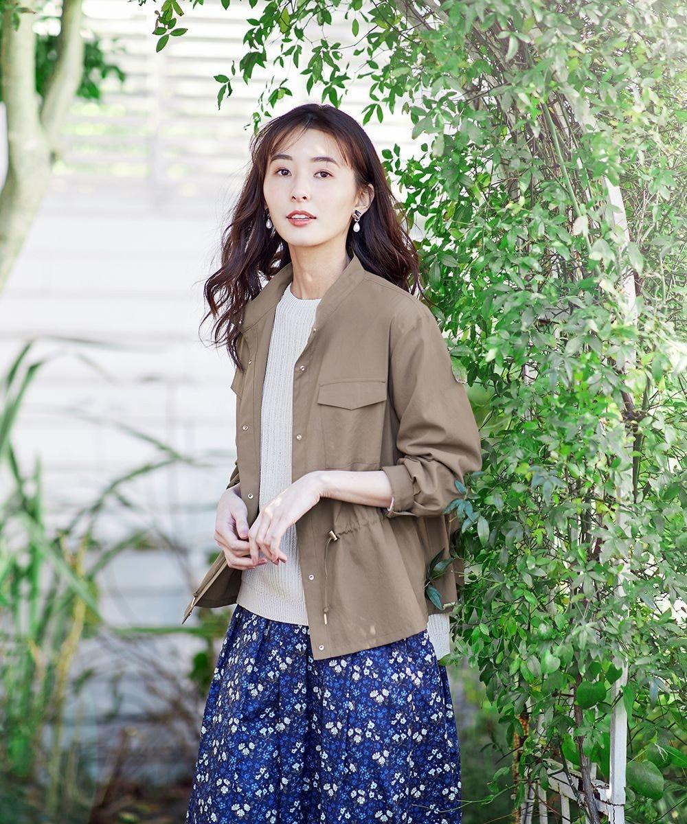 J.PRESS LADIES 【洗える】ソフトタイプライター ジャケット モカカーキ
