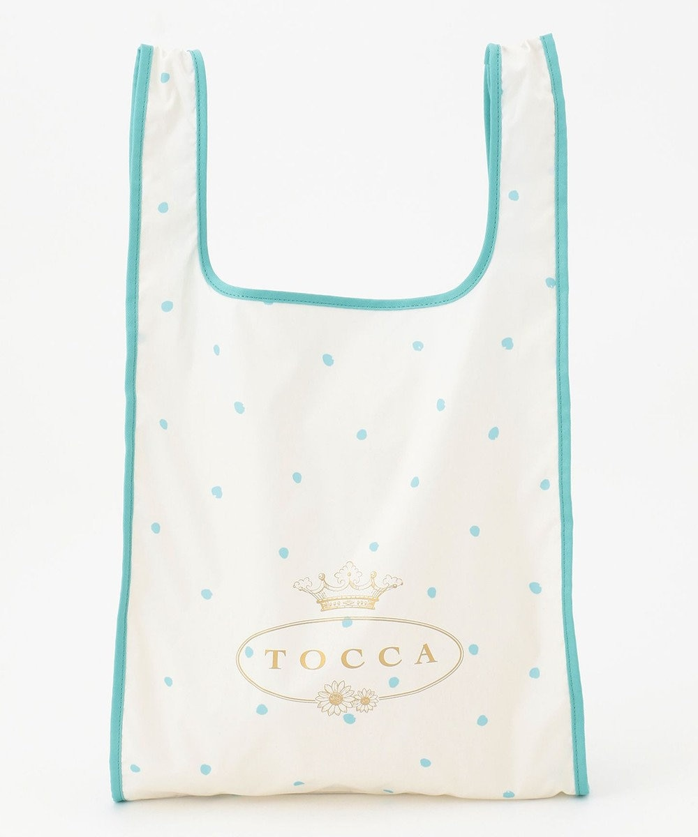 TOCCA 【Emily×TOCCA LAENDER】ETHICAL ECOBAG byEMILY エコバッグ ホワイト系