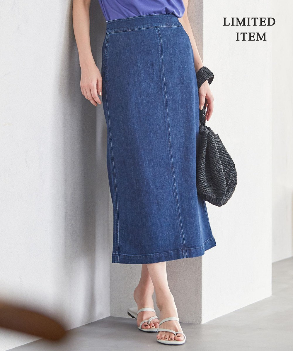 ICB L 【一部店舗限定】Denim スカート ブルー系