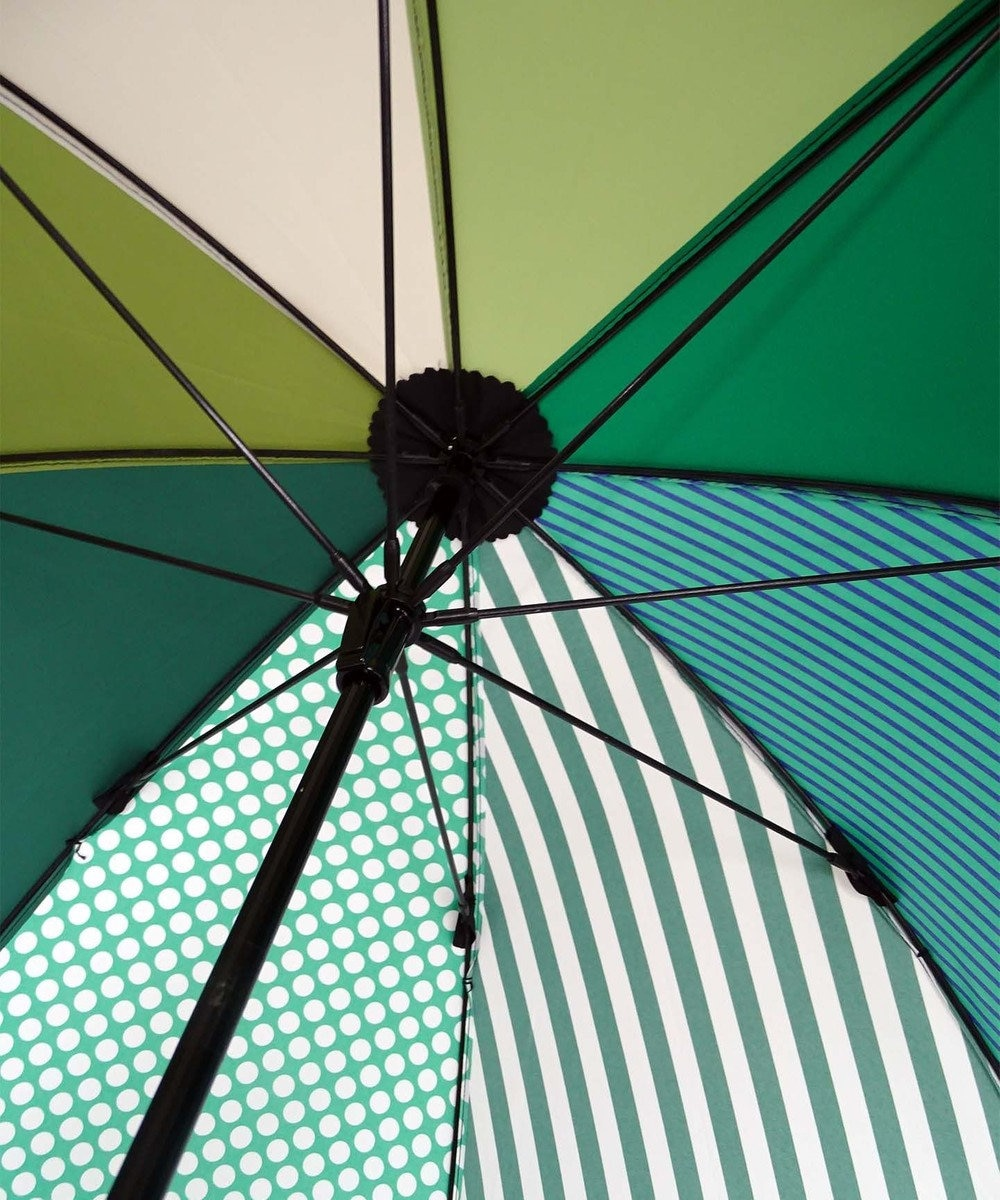 +RING 【プラスリング】【数量限定】UNISEX 雨傘(長)60cm GRN T971 緑