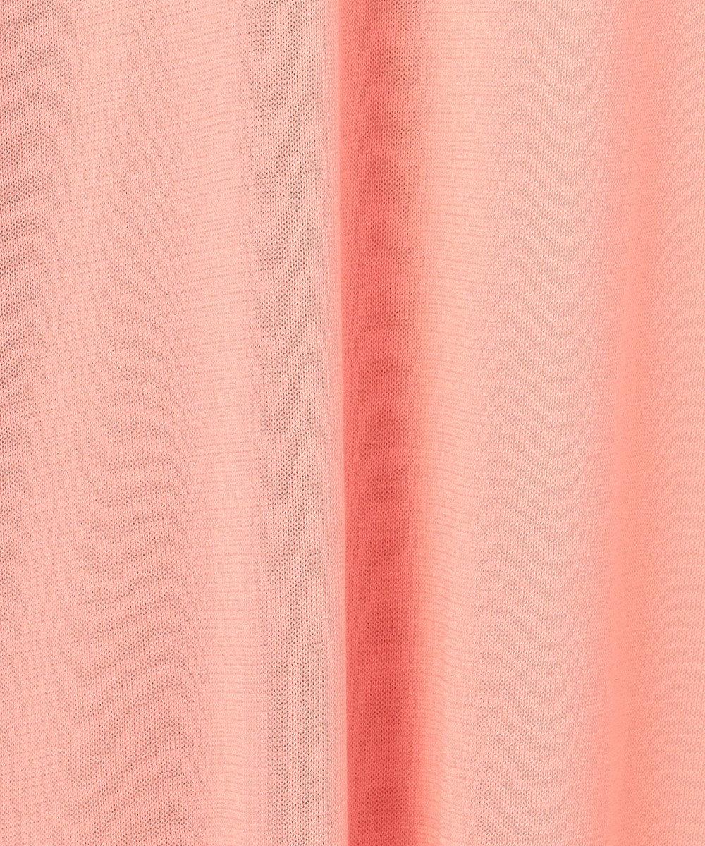 GRACE CONTINENTAL サイドスリットロングカーディガン ピンク