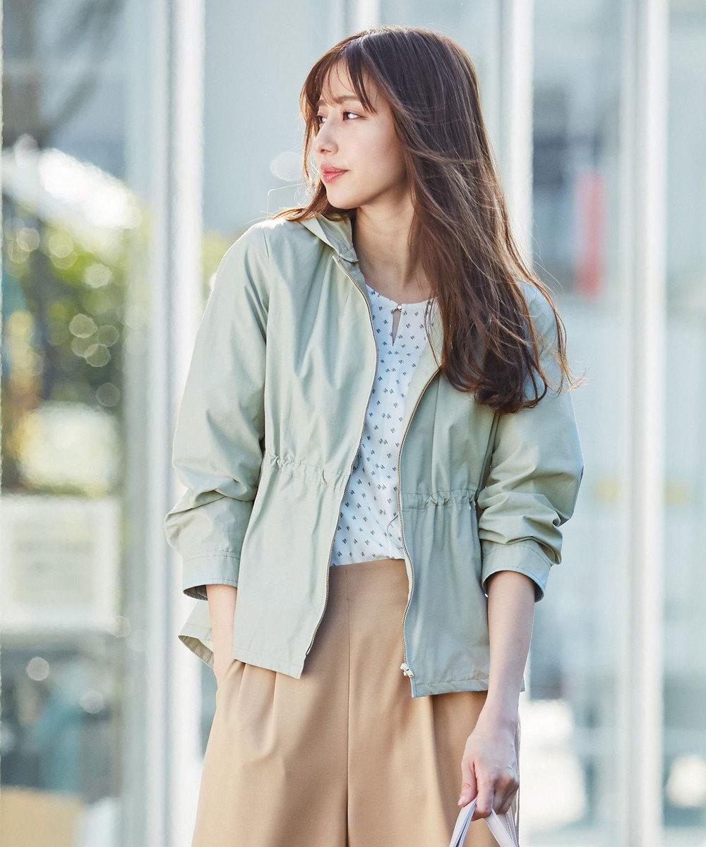 any SiS 【洗える】2WAYレディ ブルゾン ミント