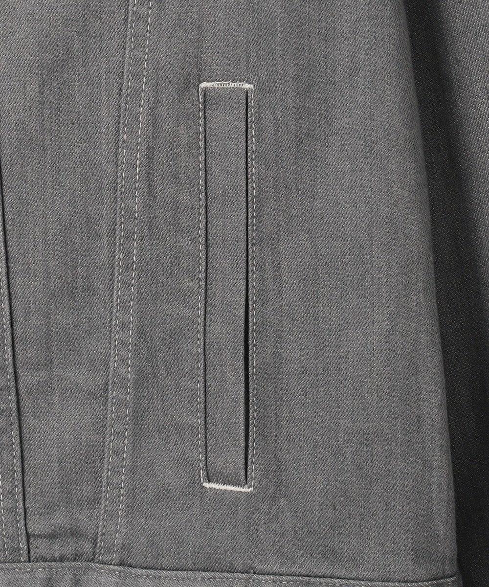 J.PRESS YORK STREET 【UNISEX】9OZ デニムジャケット ライトグレー系