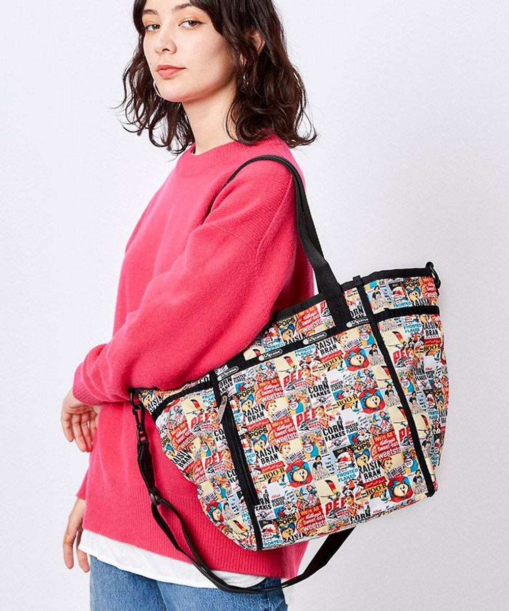LeSportsac SOFT COLLAPSIBLE TOTE/レトロシリアルボックス レトロシリアルボックス