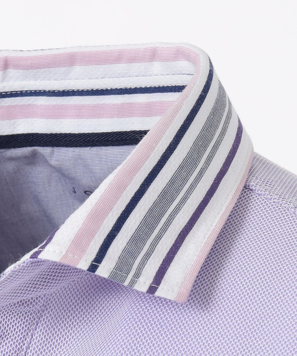 JOSEPH ABBOUD OGクールダディ ポロシャツ ライラック系1