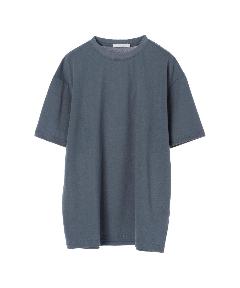 koe 梨地天竺クルーネックTシャツ Blue