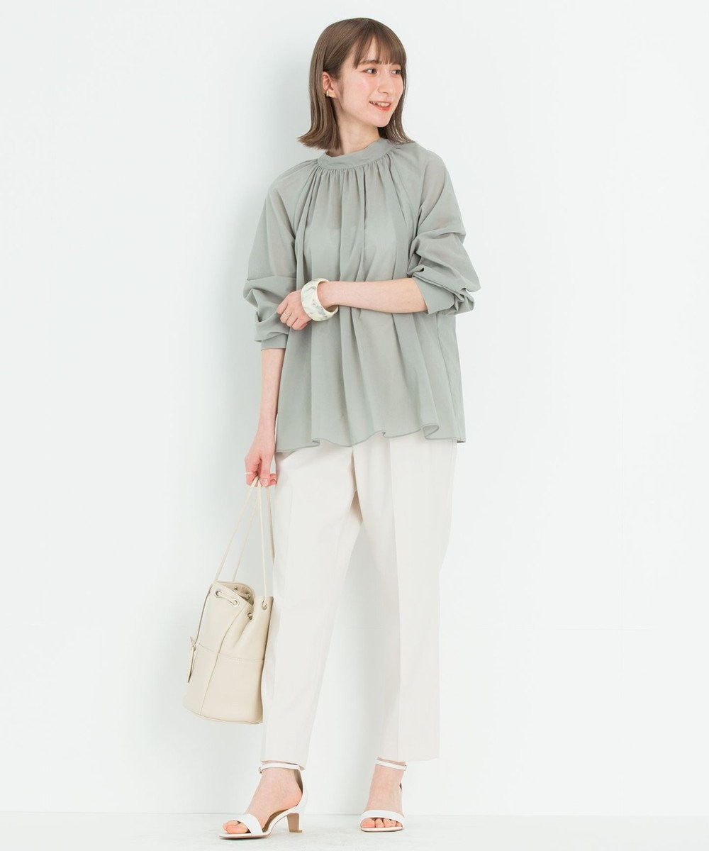 23区 【ONWARD MAG】イットパンツ アイボリー系