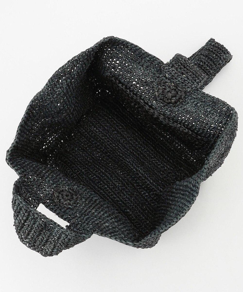 ICB Raffia ショルダーバッグ ブラック系
