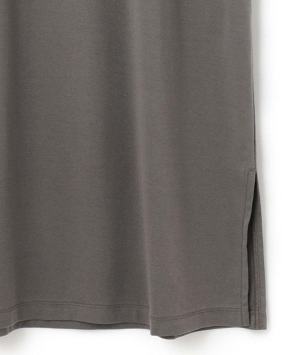 23区 【マガジン掲載】コットン Tシャツ ワンピース(番号R27) グレー系
