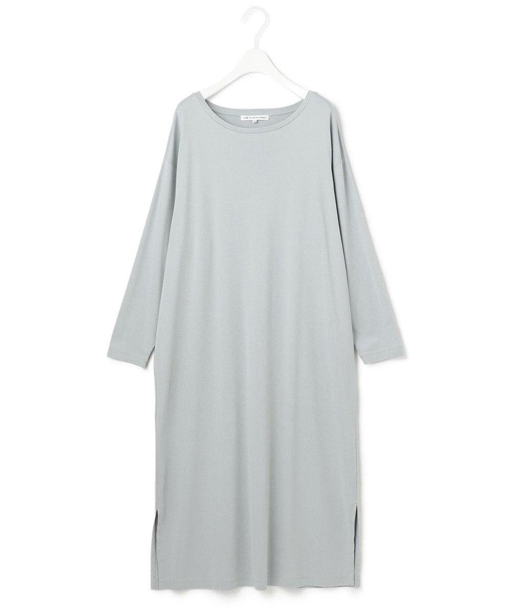 23区 【マガジン掲載】コットン Tシャツ ワンピース(番号R27) スカイブルー系