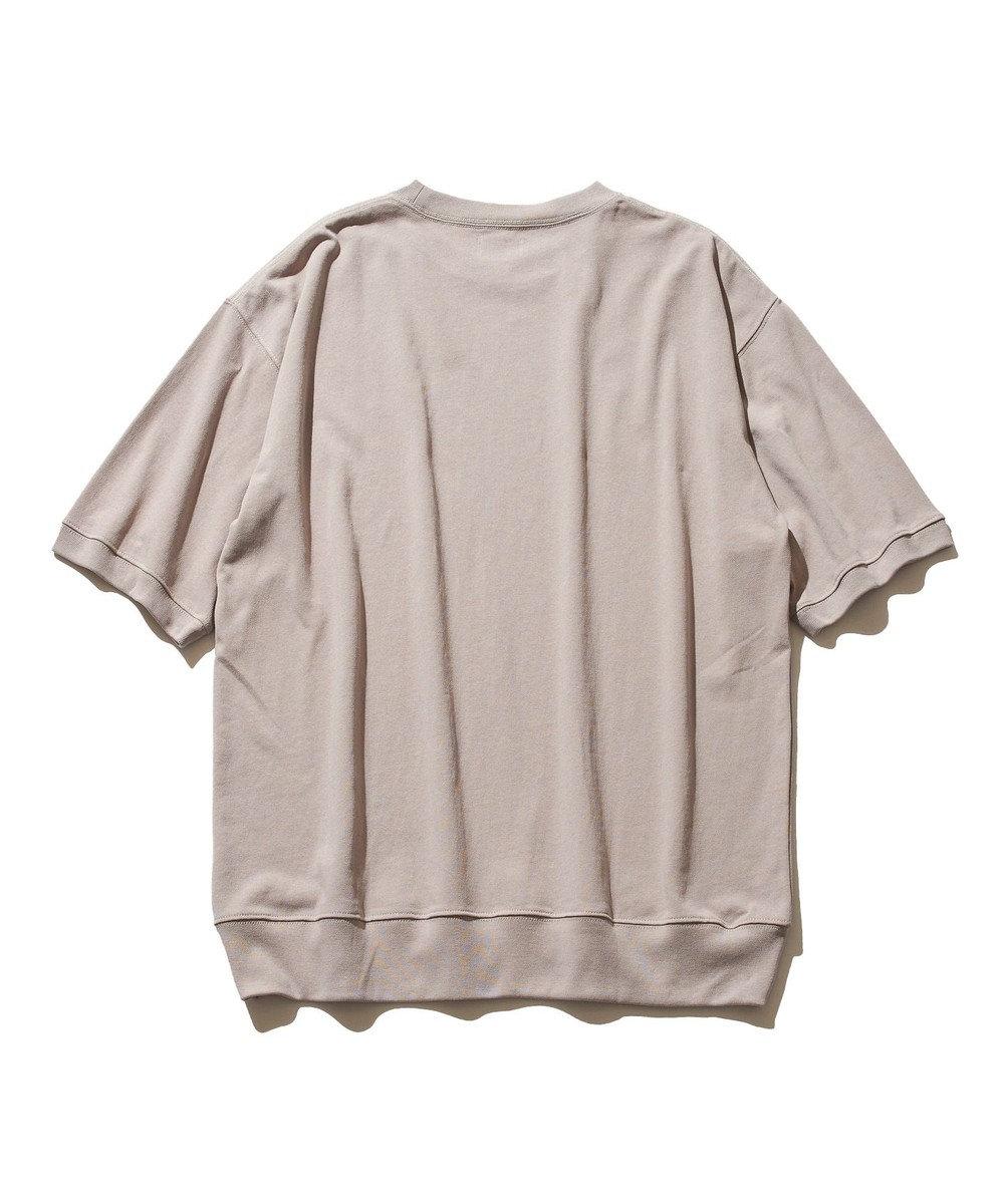 J.PRESS YORK STREET 【UNISEX】ブルドッグプリント Tシャツ ベージュ系